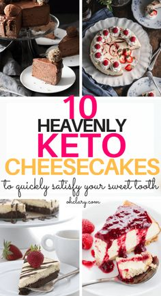 Are you craving for something sweet and creamy but you are on a ketogenic diet? Try these irresistible keto cheesecake recipes to satisfy your sweet tooth. Some of these recipes are no bake and take less than 10 minutes to put together! These easy cheesecakes are made with mascarpone, peanut butter and chocolate. Low carb fat bombs to keep you in ketosis. Try these simple keto recipes today! #ketorecipes #ketodiet #ketocheesecake #lowcarbcheesecake #ketosweets