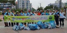 삼향읍 남악이장단, 깨끗한 공원만들기 정화 활동