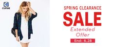 Cupshe Spring Sale - Save Maximum through Coupon Codes at Cupshe.com