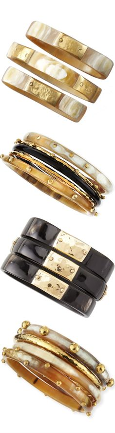 ASHLEY PITTMAN STACK BANGLES