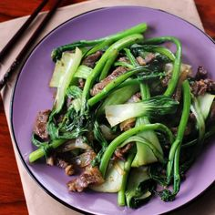 Beef and Asian Greens Stir Fry
