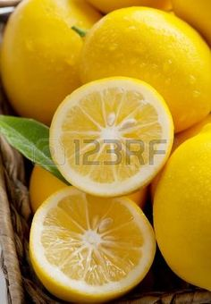 Meyer Citrony k enec mandarinky a pravideln citron detailn  Reklamní fotografie