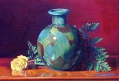 Antoine Cavalier - Peinture hyperrealiste a l huile sur toile 7 -  50x40cm - Tableau vendu