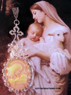 Catholic Virgin Mary and Child