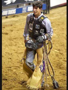 JB Mauney Bull Rider | 2012 Professional Bull Riders Invitational at N.Y.C.'s Madison Square Garden