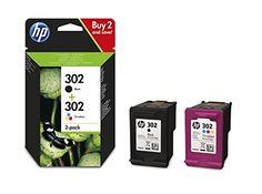 HP 302 Multipack Original Druckerpatronen (Schwarz, Farbe) für HP Deskjet, HP ENVY, HP Officejet #Multipack #Original #Druckerpatronen #(Schwarz, #Farbe) #für #Deskjet, #ENVY, #Officejet