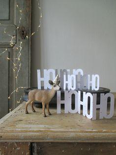 DIY ► HoHoHo ! Une déco simple et rigolote ! #HoHoHo #Noël #Déco