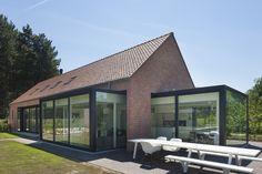 Interieur- en architectuurfotografie van een verbouwde hoeve te Olen. © foto's Liesbet Goetschalckx