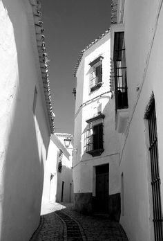 Alley of Carmona, Spain