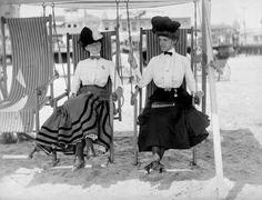 Atlantic city beach, 1898
