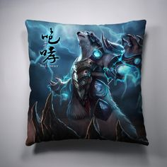 Volibear League Of Legends Decorative Throw Pillow
