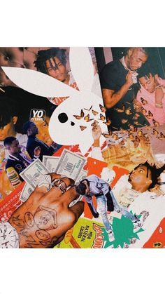 🐐🦋 Rapper Wallpaper Iphone, Hype Wallpaper, Trippy Wallpaper, Iphone Background Wallpaper, Retro Wallpaper, Aesthetic Iphone Wallpaper, Aesthetic Wallpapers, Rap Background, Cover Design