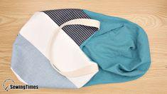 DIY WINDMILL TOTE BAG Beach Bag Tutorials, Sewing Tutorials, Bag Pattern Free, Bag Patterns To Sew, Diy Handmade Bags, Saree Tassels Designs, Diy Bags Purses, Simple Bags, Tote Bag