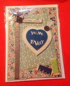 Sew lovely handmade card.
