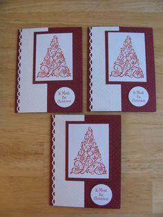 stampin up christmas cards Karen