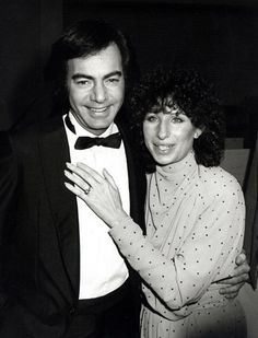 Barbra Streisand and Neil Diamond