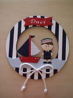 Nautical Photo Booth, Nautical Party, Nautical Banner, Jungle Theme Birthday, Baby Boy 1st Birthday, Baby Shower Cupcakes For Boy, Baby Boy Shower, Diy Nursery Decor, Baby Room Decor