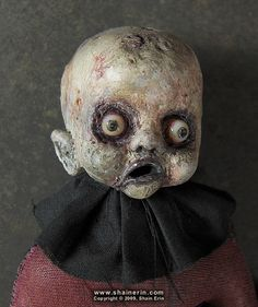 Zombie Art Doll 8 - Gerty (by Shain Erin) - That is sooo freaky (and naturally, I love it;p)