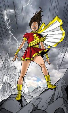 Mary Marvel Created by Adam Huntley