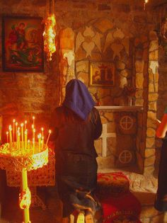 Orthodox Way of Life, serbia Prayer Corner, Bride Of Christ, Russian Orthodox, Orthodox Christianity, Orthodox Icons, Way Of Life, Kirchen, Catholic, Godly Woman