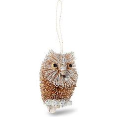 GISELA GRAHAM Owl tree decoration