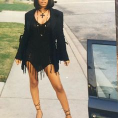 Nia Long serving fabulous vibes in the 2000s Fashion, Fashion Outfits, Nia Long, Vintage Black Glamour, Happy International Women's Day, Black Girl Aesthetic, 90s Aesthetic, Aesthetic Fashion, 90s Outfit