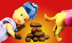 Куклы Барби Видео для девочек Сборник Какающая собака Объелся гамбургеро...
