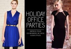 Holiday Office Parties Dresses #HolidayDresses