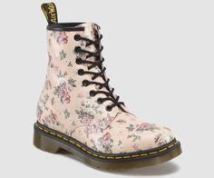 Doc Martens fleuries / roses
