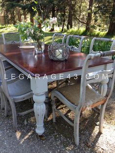 Classic Victorian style dining table
