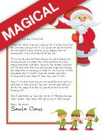 Personalized Santa Letter  Letters From Santa For Child Learning