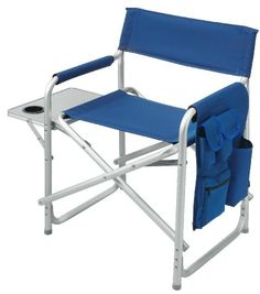 This Durable Director Chair Is Ideal For Camping, Barbeques, Picnics, Patio  And Outdoor