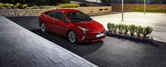 Fourth generation Toyota Prius revealed ahead of its world debut at the 2016 Frankfurt Motor Show on 15 September. Toyota Prius, Frankfurt, Fuel Cell Cars, Auto Motor Sport, Sports Sedan, Fuel Economy, Vehicles, Berline, Blog