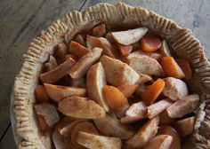 Rustic Apple Plum Pie from the Washington's Green Grocer blog.  Bring on the cool weather!