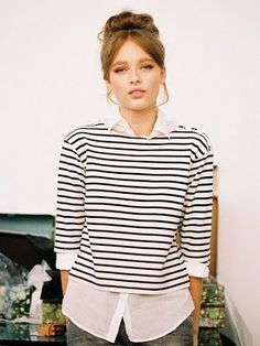 Good stripes. @thecoveteur