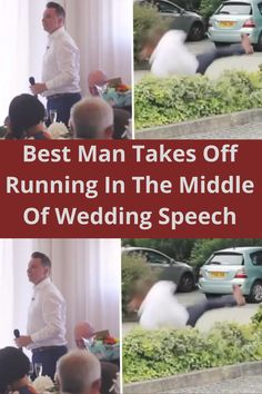 When your best friend chooses you to be the Best Man at his wedding, what do you think should be done? Sure you could write a speech, prepare a few jokes, and show off how much your pal means to you. You could also be like this Best Man and leave the crowd in stitches with an incredibly silly video.