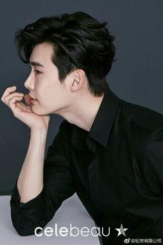 Lee Jong Suk - Celebeau Weibo  Cr. Logo