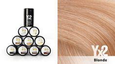 Yx2-hiustuuhennetta on saatavana 9 eri värisävyä, kuten tämä ihastuttava vaalea (blonde) sävy . Voit käyttää myös eri sävy-yhdistelmiä, jolloin löydät tarvittaessa juuri oikean sävyn. Yx2-tuotteet löydät: www.yx2.fi/kauppa #yx2 #hiustuuhenne #sävy #color #blonde #vaalea