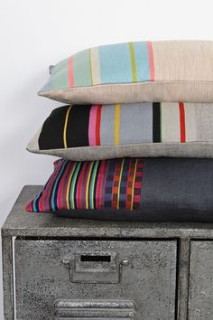 Laura Fletcher Textiles - Cushions. See this at New Designers 2013