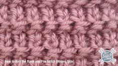 Example of the Rank and File Stitch Wrong Side