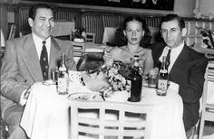 Genovese associate ,Meyer Lansky. With his wife and Cuban leader Batista.