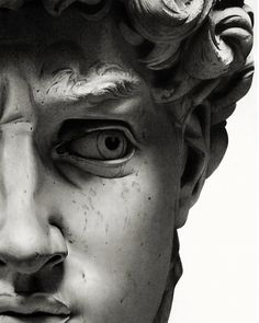 Michelangelo's David. Words deemed unnecessary.