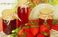 Strawberry, Table Decorations, Fruit, Furniture, Food, Home Decor, Decoration Home, Room Decor, Eten