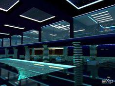 Клуб: архитектура, интерьер, 3 эт | 9м, минимализм, ночной клуб, дискотека, 300 - 500 м2, каркас - ж/б, здание, строение, минимализм, ночной клуб, дискотека, барная стойка, пол, 200 - 500 м2 #architecture #interiordesign #3floors_9m #minimalism #nightclub #disco #300_500m2 #frame_ironconcrete #highrisebuilding #structure #minimalism #nightclub #disco #barcounter #paul #200_500m2 arXip.com
