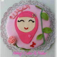 Islamic cake, hijab cake Eid Cake, Miss Candy, Dessert Decoration, Islamic Gifts, Round Cakes, Baby Party, Custom Cakes, Party Cakes, Bento