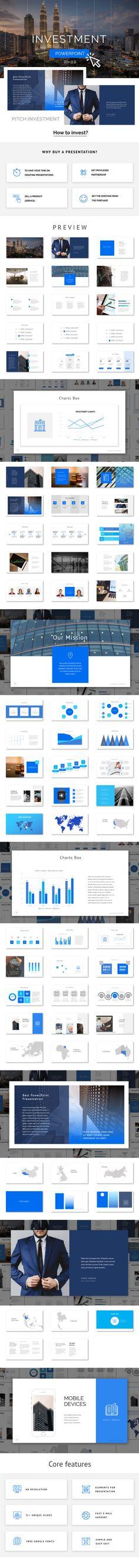 Investment - PowerPoint Presentation (PowerPoint Templates)
