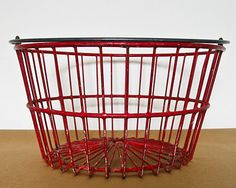 i love old wire baskets