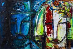 "Julio Cesar Cepeda ""ENTRE NOSOTROS"" Original Cuban Artwork from: https://cubanocanadian.com"
