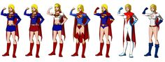 Super Girl / Power Girl, Young Justice Style by Majinlordx.deviantart.com on @deviantART