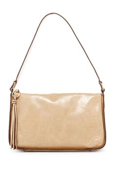 Evita Leather Shoulder Bag